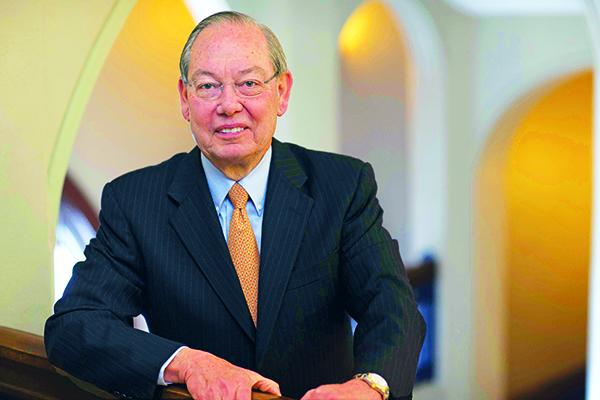 Portrait shot of Chancellor Jimmy G. Cheek
