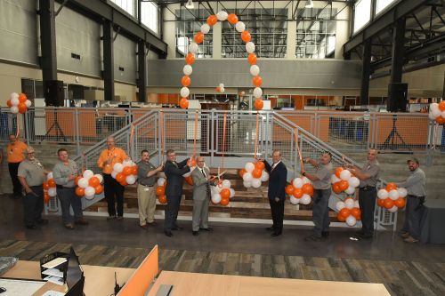 Facilities Services Building Ribbon-Cutting