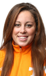 KNOXVILLE, TN - SEPTEMBER 17, 2014 - Molly Hannis headshot during photo day. Photo By Donald Page/Tennessee Athletics