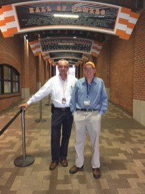 OIT's Mike Berger and Tim Mendenhall oversaw networking and communication.