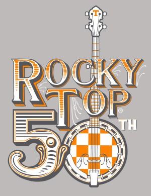 Rocky Top 50th Anniversary Logo