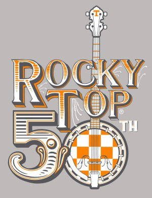 Rocky Top 50th Anniversary Logo