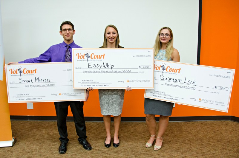 2017 Vol Court Pitch Competition Winners