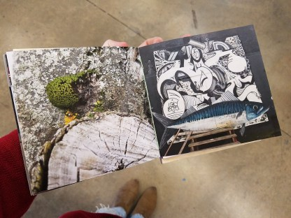 Bittinger created booklet of images that captured the mix of culture and architecture in Reykjavik.