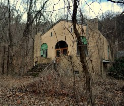 Calderwood Baptist Church was the first building Guthrie ever explored with Adventures United.