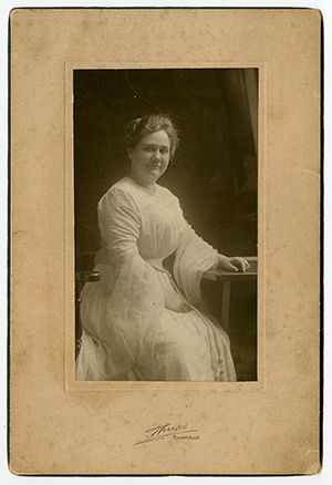 portrait photograph of Virginia P. Moore