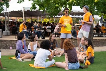 Freshman picnic for the University of Tennessee August 19, 2018. Photo by Steven Bridges - http://stevenbridges.com