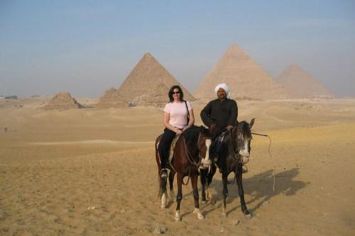 Neisler in Egypt