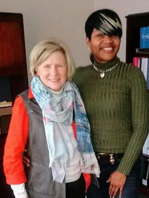 image of Susan Benner and Skikila Smith