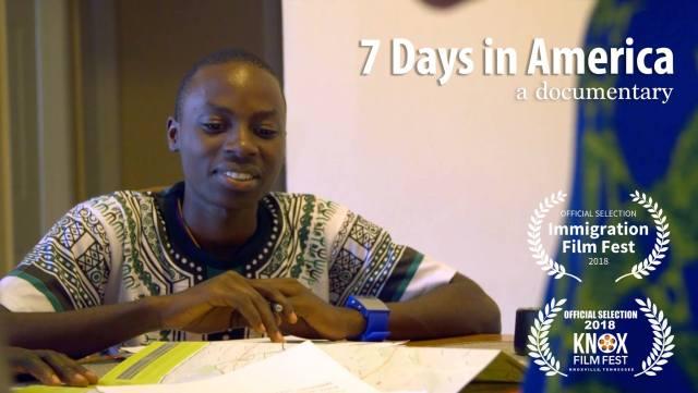 7 Days in America Key Art