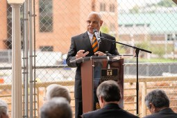 The official groundbreaking for the new $129 million, 228,000 square-foot Engineering Complex at the University of Tennessee Knoxville campus on September 28, 2018. Photo by Steven Bridges http://stevenbridges.com