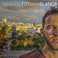 "Album art for Baites' ""Tangier to Casablanca""."