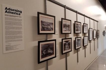 Historical Display at Facilities Services, 2018
