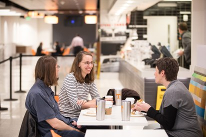 Breakfast to kick off the Student Union Grand Opening at Student Union on March 29, 2019. Photo by Steven Bridges