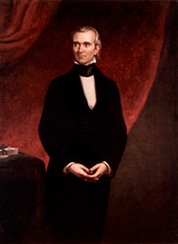Portrait by George P. A. Healy (1858) Credit: White House Collection/White House Historical Association
