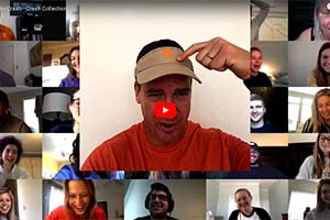 Peyton Manning surprises a UT class on Zoom.