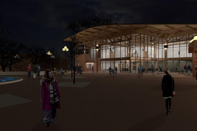 Exterior Night _ Carousel Theatre (1)