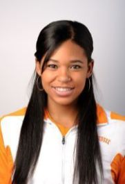 Bianca Blair in her UT Track & Field roster photo from 2011
