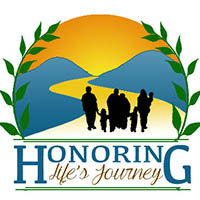 The Honoring Life's Journey logo