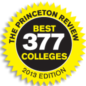 The Princeton Review Best 377 Colleges - 2013