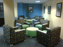 Apartment Residence Hall lounge