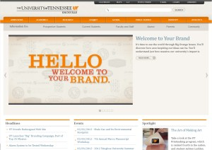 Big Orange website