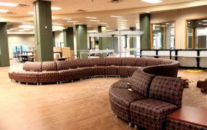 Serpentine Chairs in the Commons North