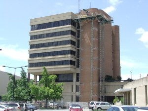 Andy Holt Tower repairs