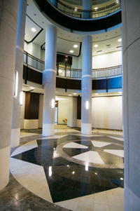 Interior View of the Baker Center Rotunda