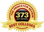 The Princeton Review Best Colleges seal