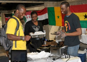 One of the many food vendors at the 2011 International Festival