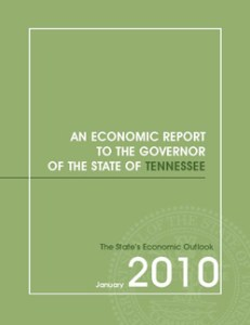 Economic Report to the Governor January 2010