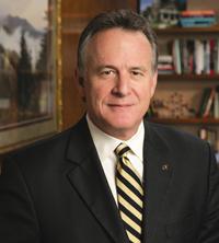 UT President John Petersen (click image for high-res version)