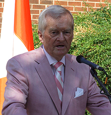 "Former ""Voice of the Vols"" John Ward"