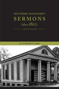 Southern Sermons Before 1800