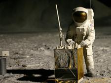 Orange Man on the Moon?