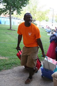 move-in volunteer