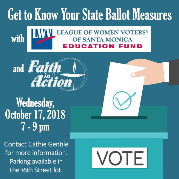 Learn about the ballot issues with FIA and SM League of Women Voters