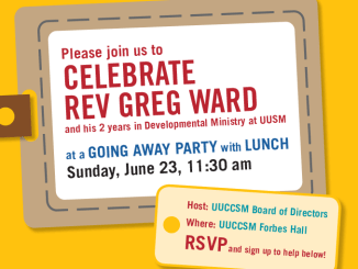 Celebrate Rev. Greg Ward