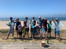 Fun in the sun at Will Rogers cleanup