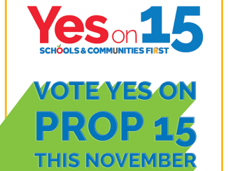 Vote Yes on Prop 15