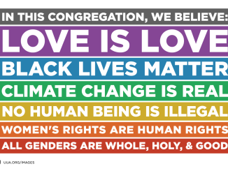 We believe...Love is Love