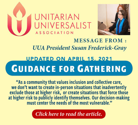 UUA 4/15/21 Updated Guidance for Gathering