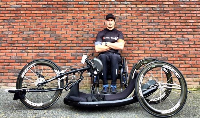 Paraplegic super athlete completes Robben island crossing
