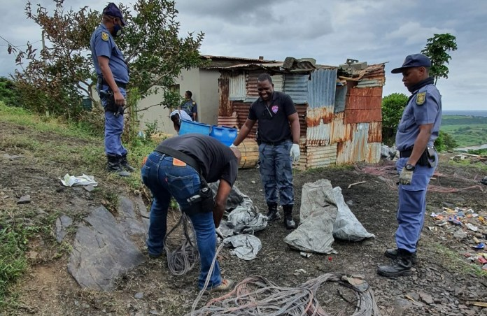 KZN police arrest four thieves who allegedly stole close to R4 million worth of copper