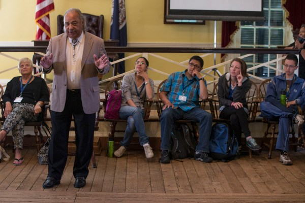 Chickahominy Chief Tells Visiting Youth Of Education
