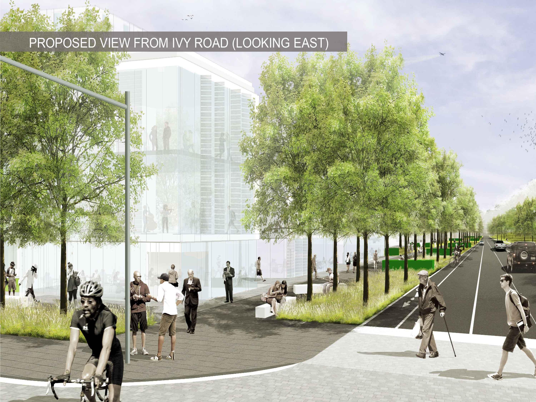 More Green Space Planned For Ivy Emmet Entrance Corridor
