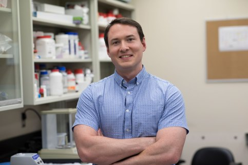 Researcher Greg Medlock will use a Gates Foundation grant to grow disease-fighting gut microbes.