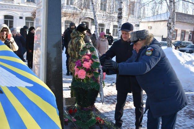 о памятном митинге в марксе - 15 ферваля - газета воложка - день воинов интернционалистов