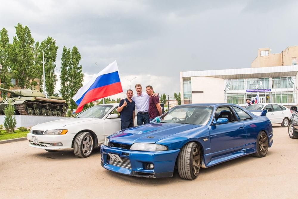 автопробег в марсе в день россии - события в марксе новости
